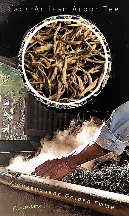 Xiengkhouang Golden Flame - Schwarzer Tee aus Laos