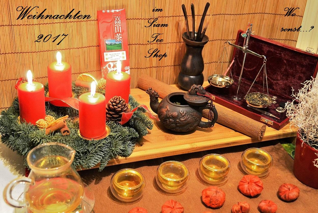 Weihnachten 2017 im Siam Tee Shop
