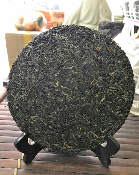 Ancient Snow Shan Sheng Pu Erh Tea / Hei Cha from Ha Giang province, Vietnam - pressed to cake