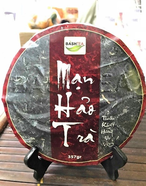 Ancient Snow Shan Sheng Pu Erh Tee / Hei Cha from ancient tea trees in Ha Giang province, Vietnam - pressed to cakee