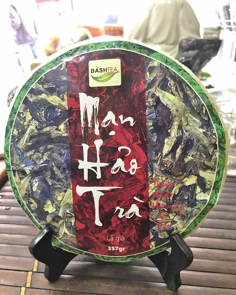Ancient Snow Shan Big Leaves Sheng Pu Erh Tea - unripened big leaves pu erh tea from ancienttea trees in Vietnam's northernmost province, Ha Giang