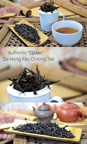 Authentique Qidan Da Hong Pao Oolong Tee