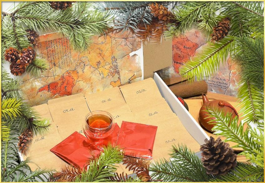 SiamTeas Tea Advent Calendar Box