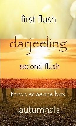 Darjeeling Tee 3-Jahreszeiten-Box
