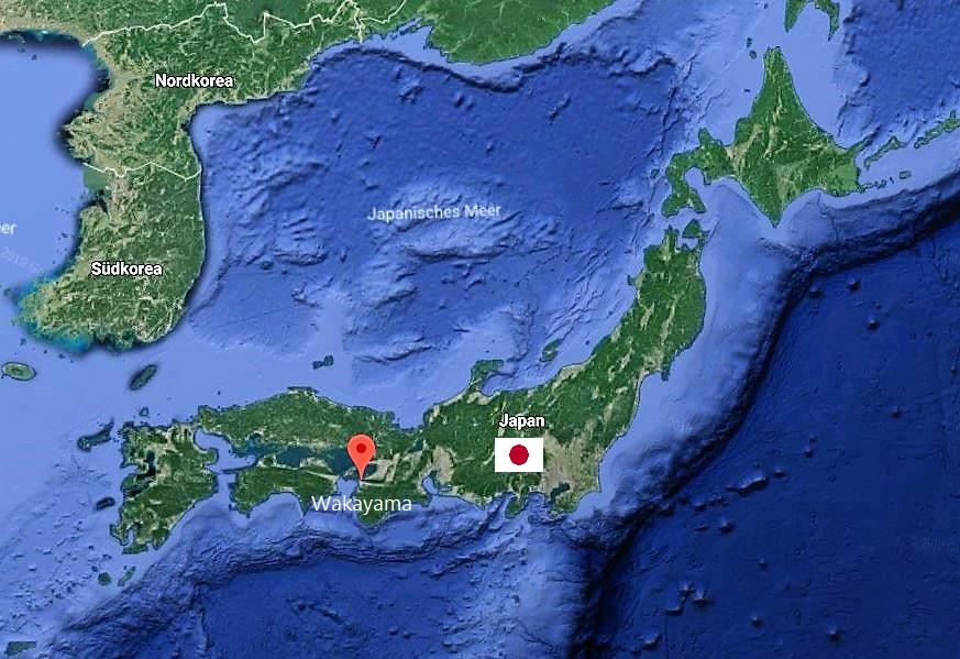 Herkunft von Gyokuro Hiki: Praefektur Wakayama, Japan