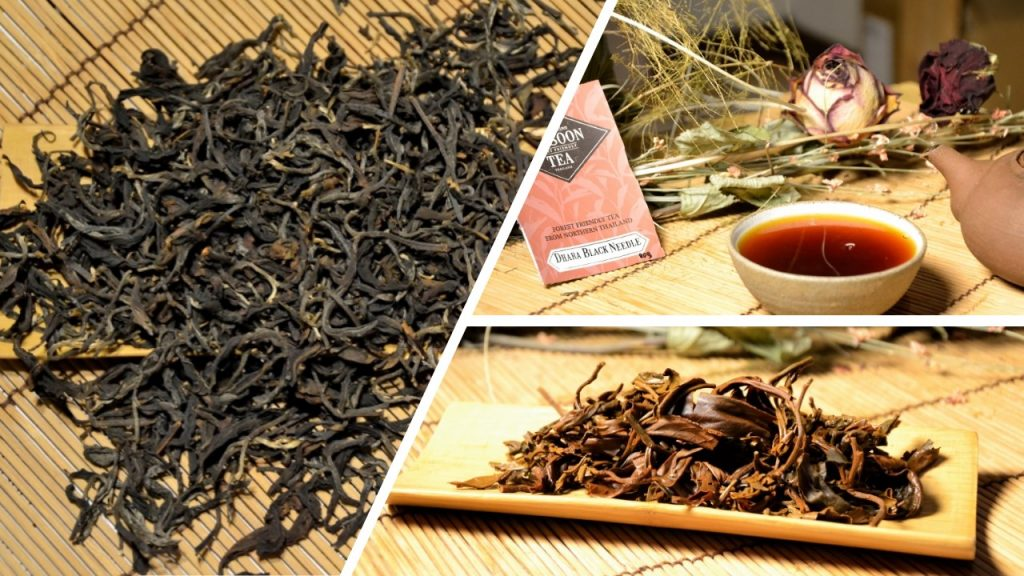 Dhara Black Forest-Friendly Tea - black tea (1+2) from the forests of Amphoe Mae Taeng, Chiang Mai province, northern Thailand