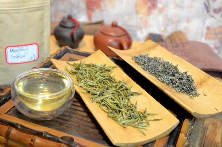 Mengding Ganlu Green Tea from Mengding Shan, Ja An County, Sichuan, China