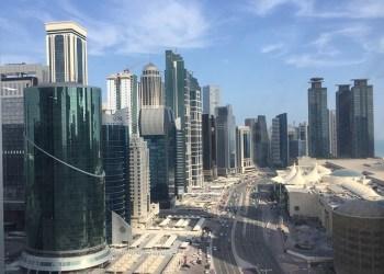 Vue sur Doha, la capitale du Qatar