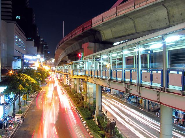 Silom Road, au cœur du quartier le plus cher de Bangkok