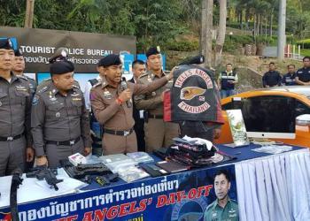 Des Hells Angels Arrêtés à Pattaya
