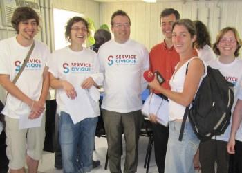 Service civique : objectif 150.000 jeunes en 2018
