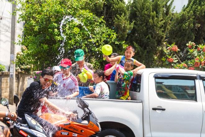 Songkran, le Nouvel An thaïlandais, est célébré du 13 au 15 avril