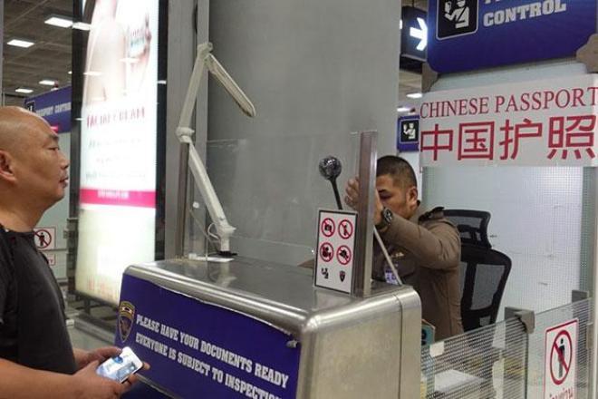 Les ressortissants chinois vont désormais bénéficier de files d'immigration spéciales dans cinq aéroports de Thaïlande