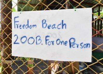 Phuket : ils faisaient payer l'accès à une plage publique, 2 arrestations