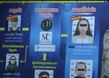 Thaïlande : 5 arrestations pour pratique illégale de la chirurgie esthétique