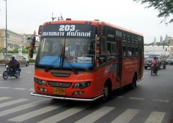 Bangkok : les tarifs des bus vont augmenter à partir du 21 janvier