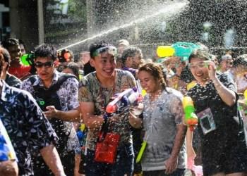 Bangkok : un Songkran plus calme que d'habitude sur Khaosan Road cette année