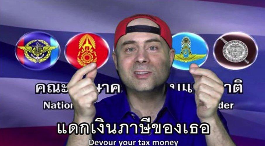 Thaïlande : un Français contraint de s'excuser auprès de la junte militaire pour une vidéo humoristique