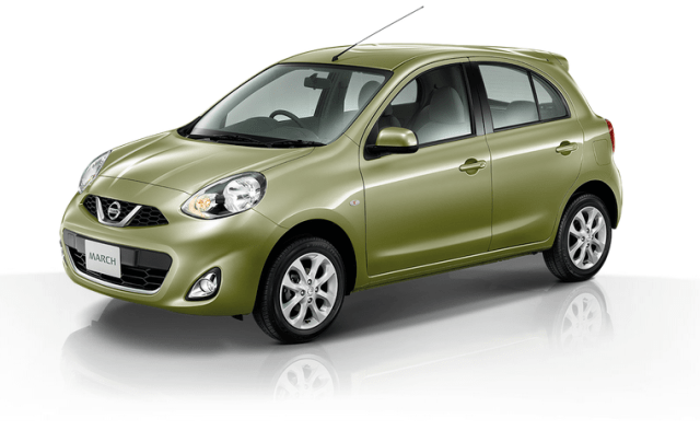 nissan march olive green
