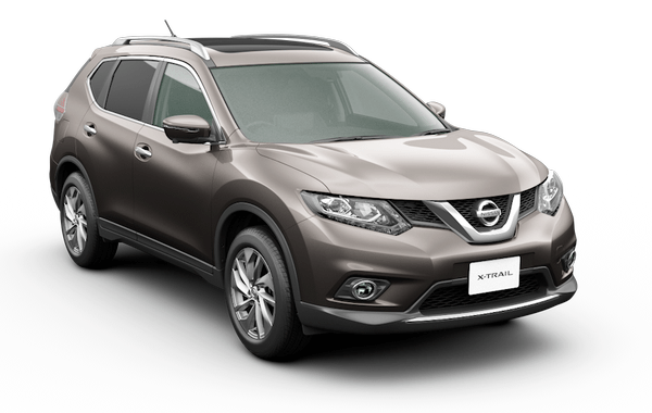 nissan x-trail deep iris grey