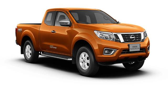 nissan np300 navara king cab savanna orange