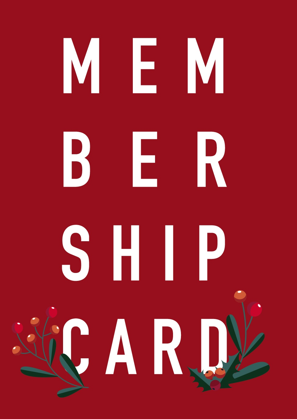 Read more about the article Membership Card
