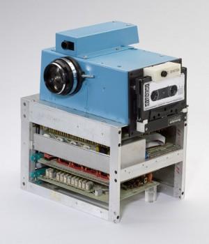 Vintage 1975 portable all electronic still camera