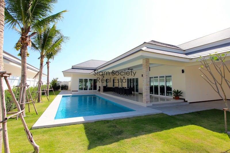 Palm Villas home for rent near Palm Hills golf course Hua Hin
