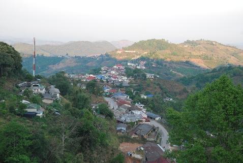 Doi Mae Salong tea town