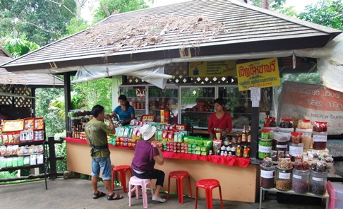 Doi Tung Royal Development Project, North Thailand: Hilltribe Bazar, Tea Shop