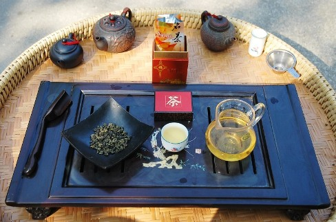 Si Ji Chun Four Seasons Oolong tea, Gong Fu Cha style
