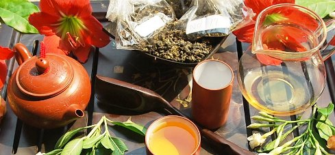 Celebrating fresh spring teas 2014 from Doi Mae Salong in my Gong Fu Cha