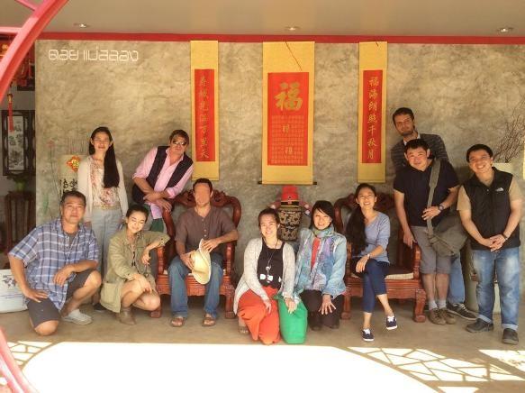 Class & Teachers at the Doi Mae Salong Tea Master Course