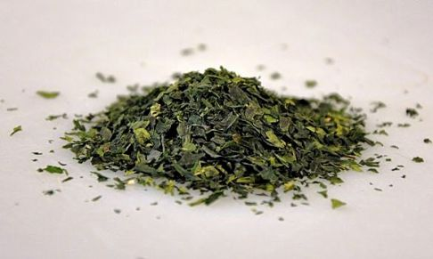 Japanese Tencha Green Tea leaves
