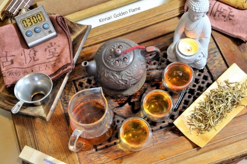 Kinnari Golden Flame - pure bud black tea from ancient tea trees in Xiengkhouang, Laos