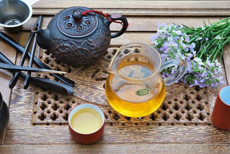 DMS Si Ji Chun Four Seasons Oolong Tea from Doi Mae Salong, northern Thailand, at Siam Tea Shop