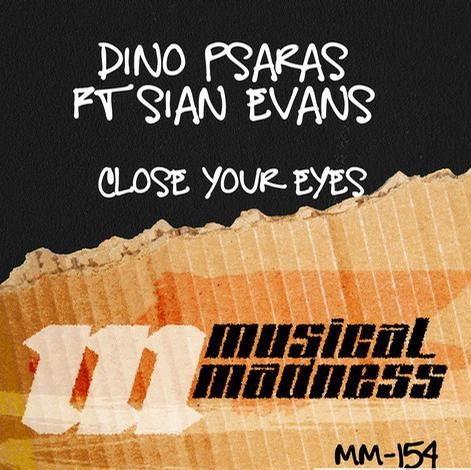 Dino Psaras ft Sian Evans - Close your eyes