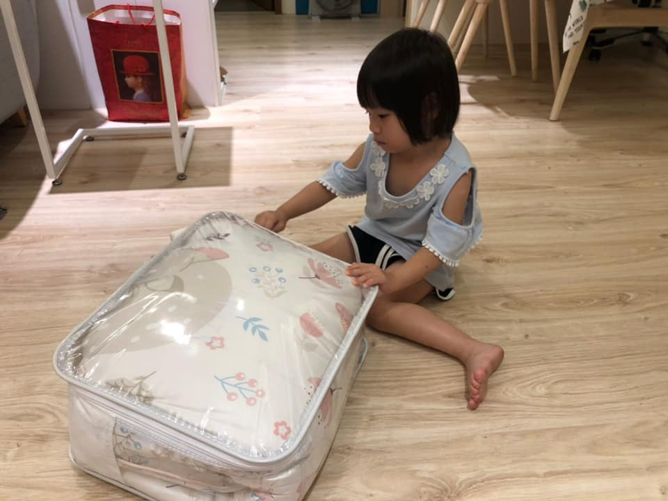 投稿 兒童睡袋開箱分享:花漾 - 小事生活誌