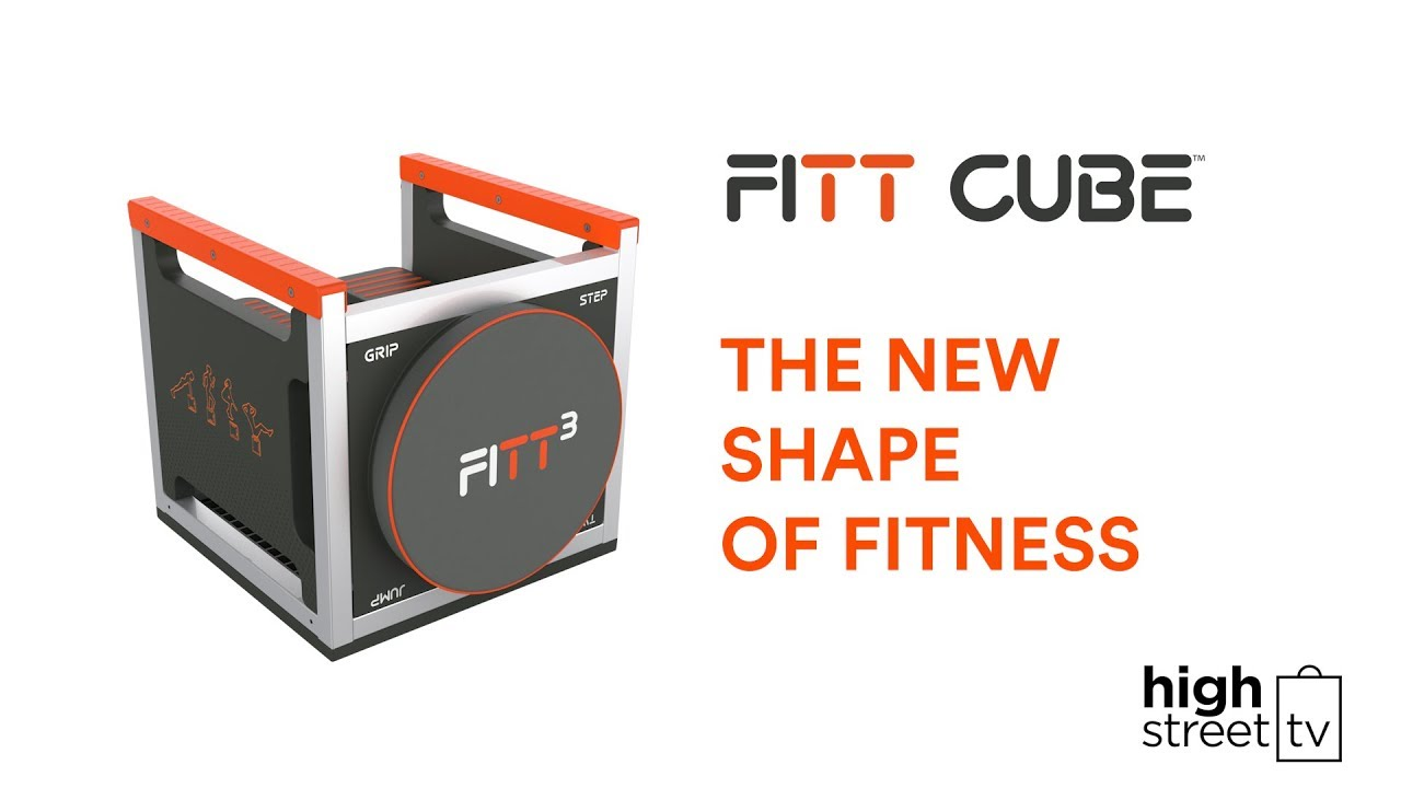 FIIT Cube - Exercise Equipment designed for HIIT training.