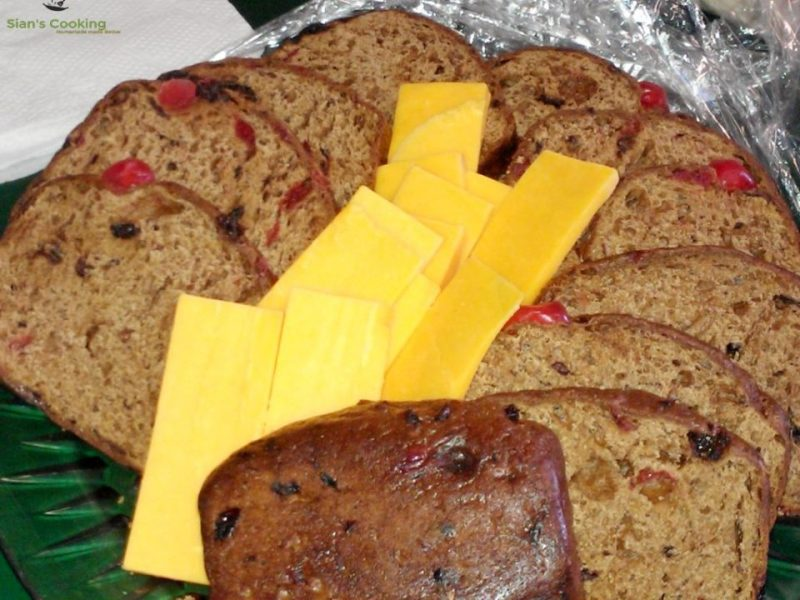 Jamaican spiced bun with cheese