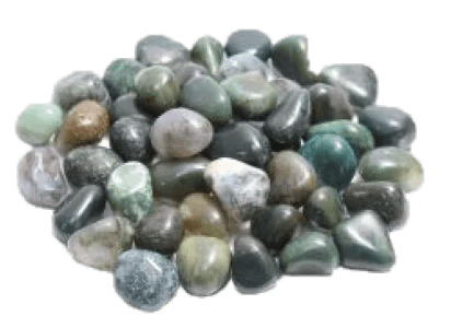 selection of agate moss green