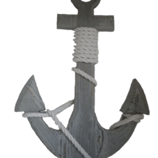 Decorative anchor with rope