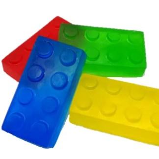 Building block soap