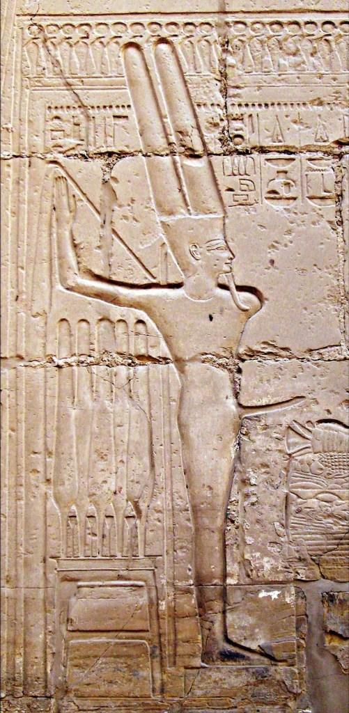 Min at Karnak
