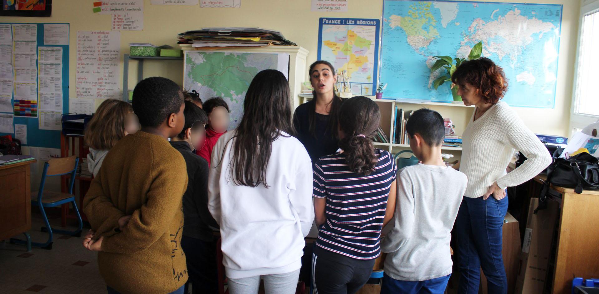 intervention pédagogique-ecole