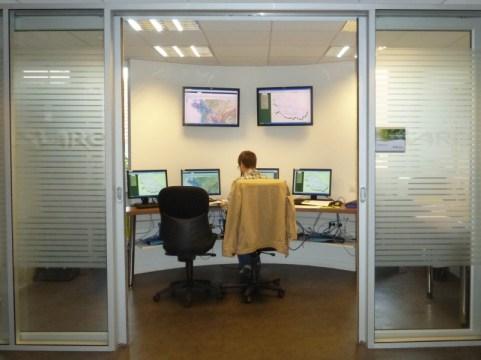 Salle de surveillance des équipements