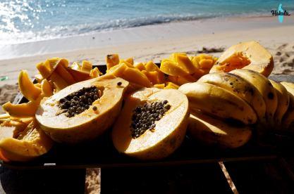 пикник фрукты