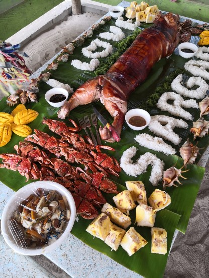 Siargao Tri Island Tour Upgraded Lunch Package with Lechon