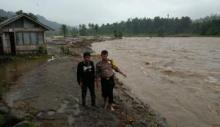 Banjir Bandang di Kayu Tanam Padang Pariaman, 6 Unit Rumah Hanyut