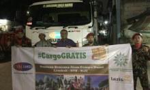 Malam Takbir, MDMC-LAZISMU dan CSM Cargo Lepas 13 Ton Bantuan ke Lombok